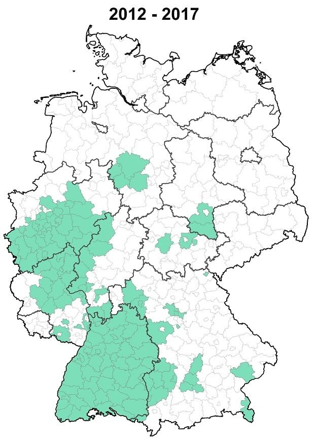 2012 - 2017